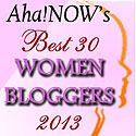 AhaNOW-Top30-Women-Bloggers-Savvy-Writer