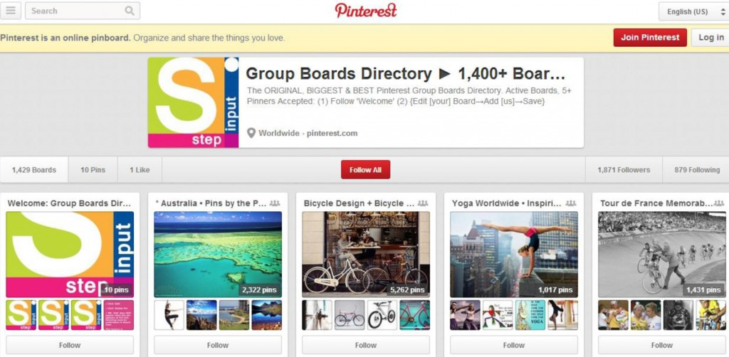 Pinterest group boards, pinterest group board directory, pinterest group boards directory