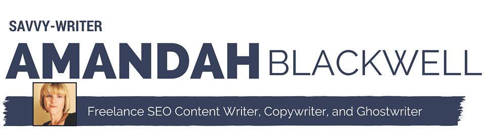 Amandah T. Blackwell - Savvy-Writer Logo