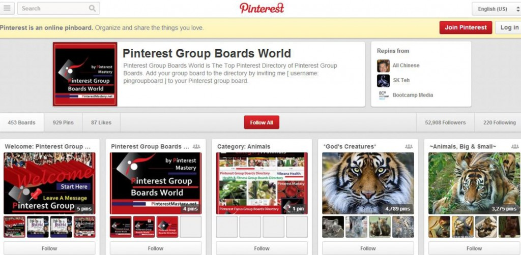pinterest group boards, how to increase pinterest group boards engagement, increase nonprofit pinterest group board