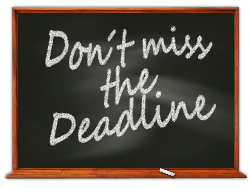 Don't tell me your excuses! Meet your deadlines-Savvy-Writer