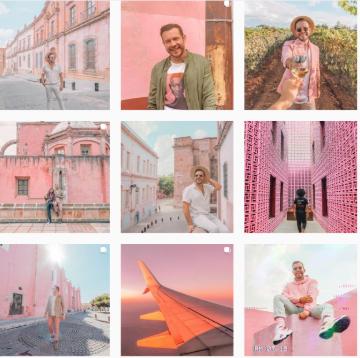 Xuzzi Instagram marketing images